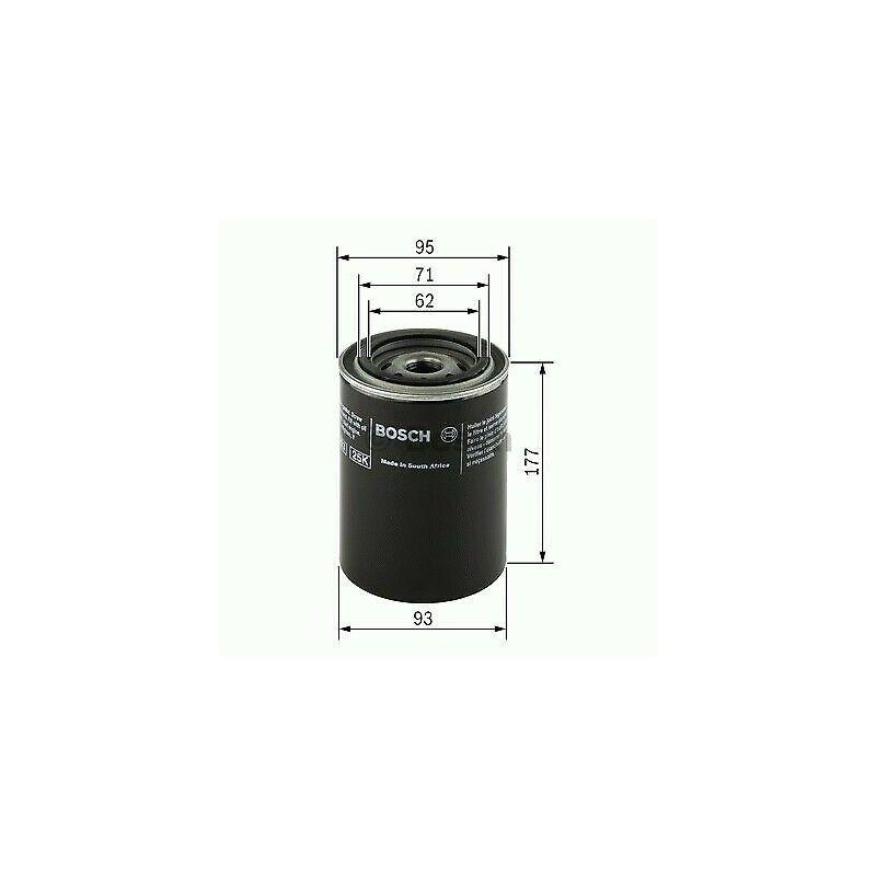 Filtru Ulei Case, Claas, New Holland 0451203220 Mann Filter - 1