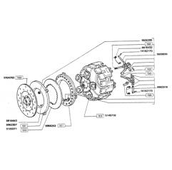 Kit Ambreiaj Fiat 514717 5145716 AAP - 2
