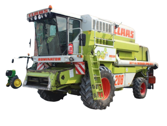 Claas Dominator 208