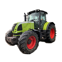 Claas Ares 715